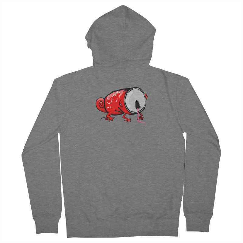 canaeleon Men's French Terry Zip-Up Hoody by mikbulp's Artist Shop