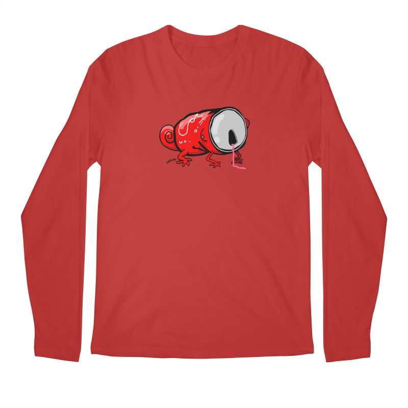 canaeleon Men's Regular Longsleeve T-Shirt by mikbulp's Artist Shop