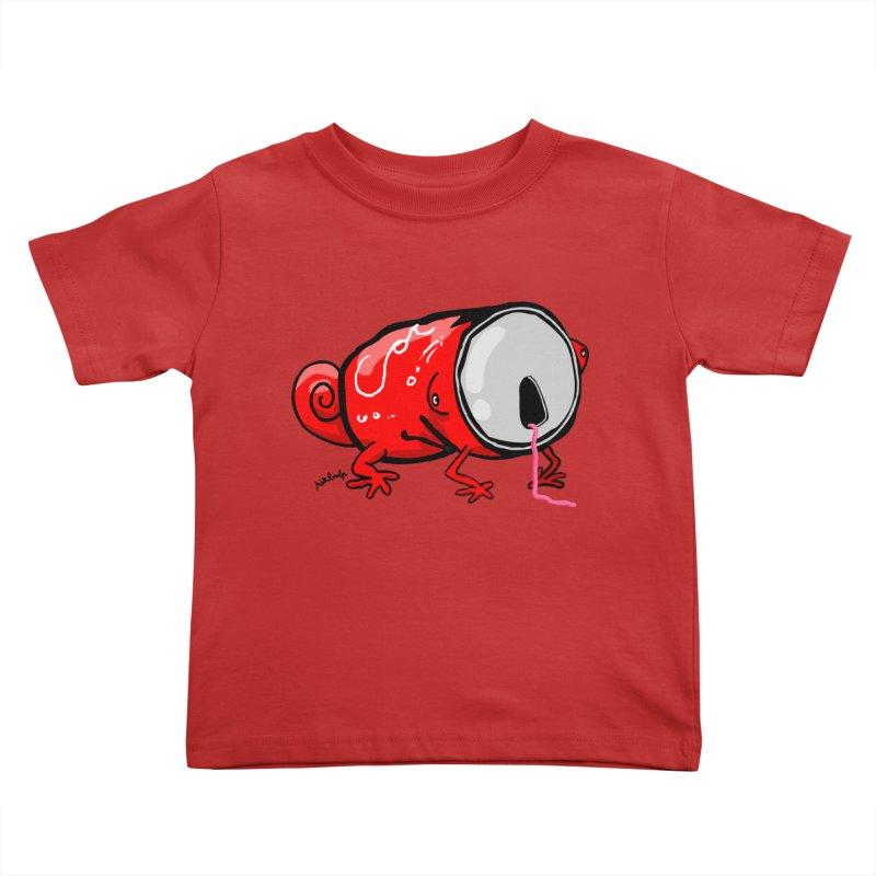canaeleon Kids Toddler T-Shirt by mikbulp's Artist Shop