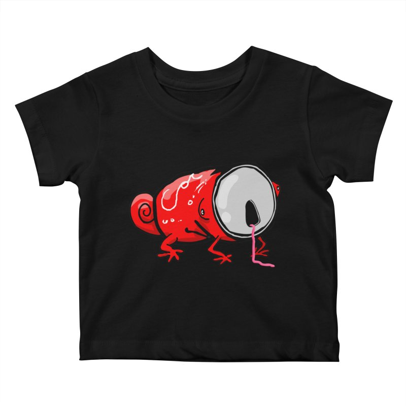 canaeleon Kids Baby T-Shirt by mikbulp's Artist Shop