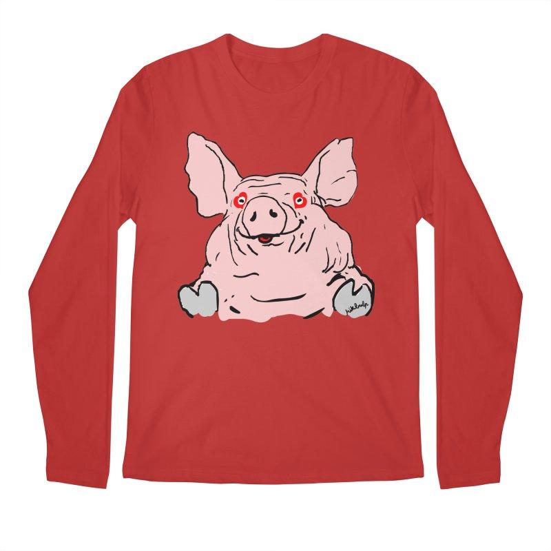 Lovepig Men's Longsleeve T-Shirt by mikbulp's Artist Shop