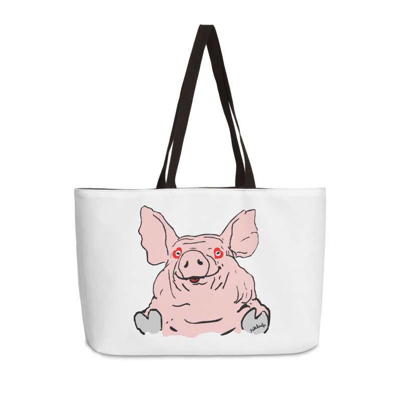 Lovepig Accessories Weekender Bag Bag by mikbulp's Artist Shop