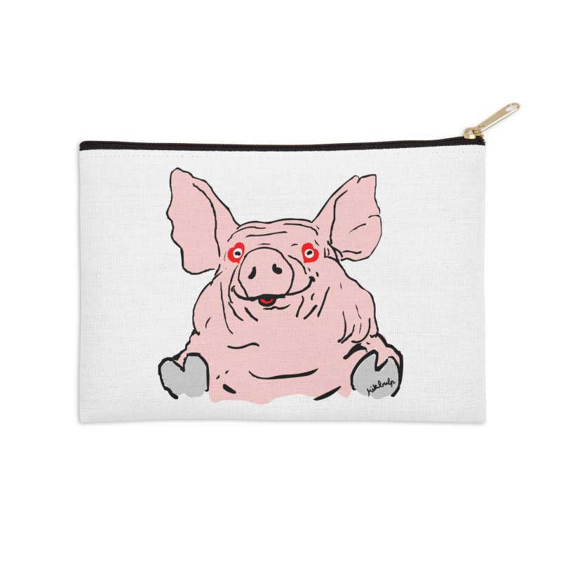 Lovepig Accessories Zip Pouch by mikbulp's Artist Shop