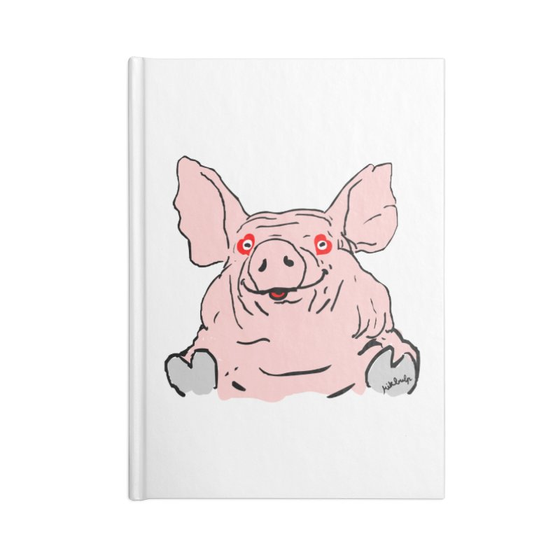 Lovepig Accessories Blank Journal Notebook by mikbulp's Artist Shop