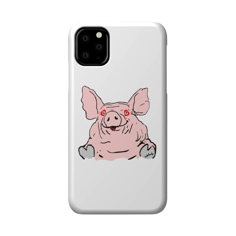 Lovepig Accessories Phone Case by mikbulp's Artist Shop