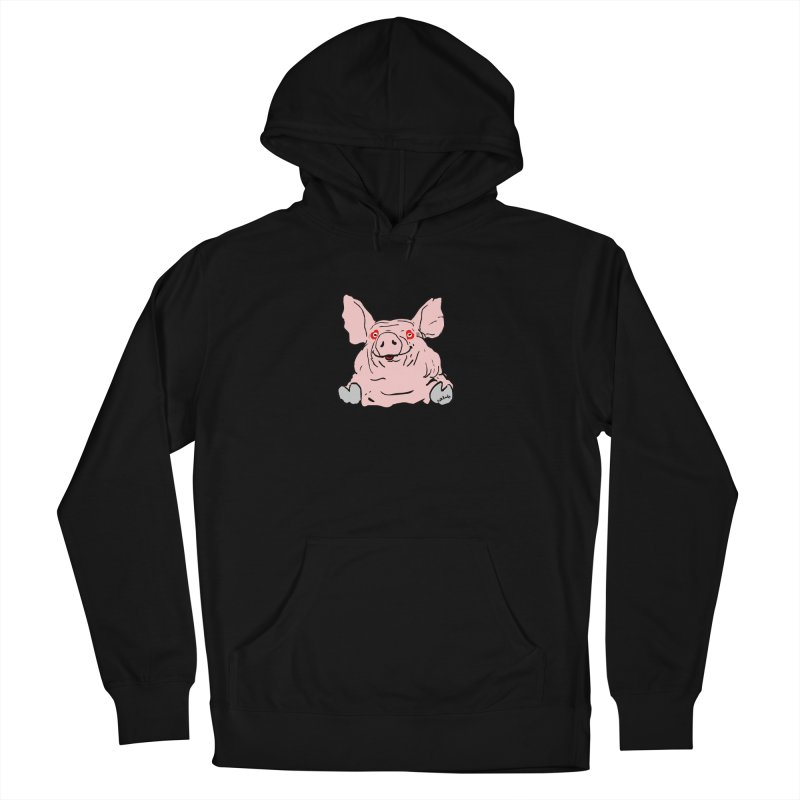 Lovepig Men's French Terry Pullover Hoody by mikbulp's Artist Shop