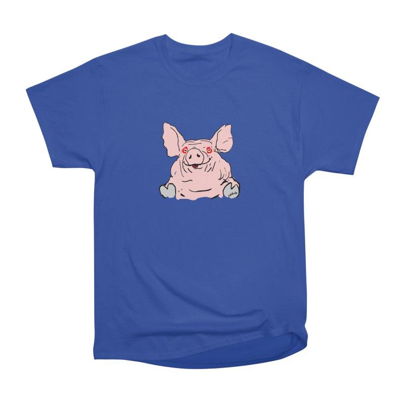 Lovepig Women's Heavyweight Unisex T-Shirt by mikbulp's Artist Shop