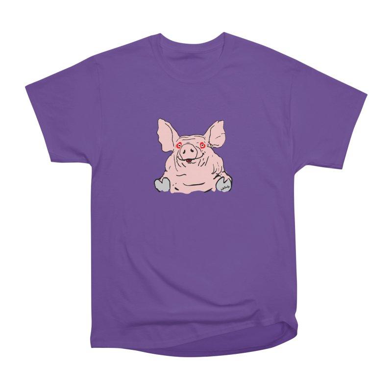 Lovepig Men's Heavyweight T-Shirt by mikbulp's Artist Shop