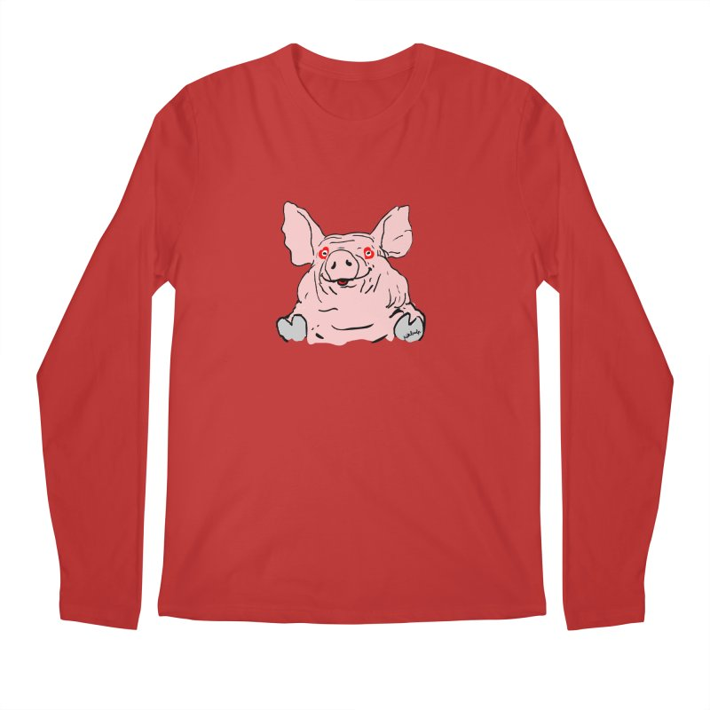 Lovepig Men's Regular Longsleeve T-Shirt by mikbulp's Artist Shop