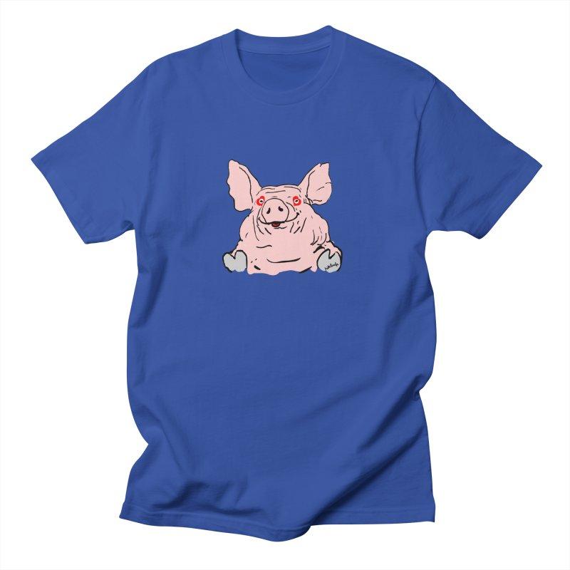 Lovepig Men's Regular T-Shirt by mikbulp's Artist Shop