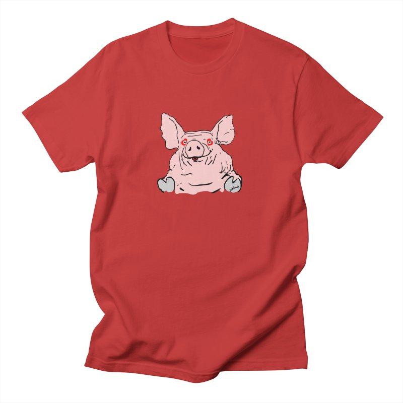 Lovepig Women's Unisex T-Shirt by mikbulp's Artist Shop
