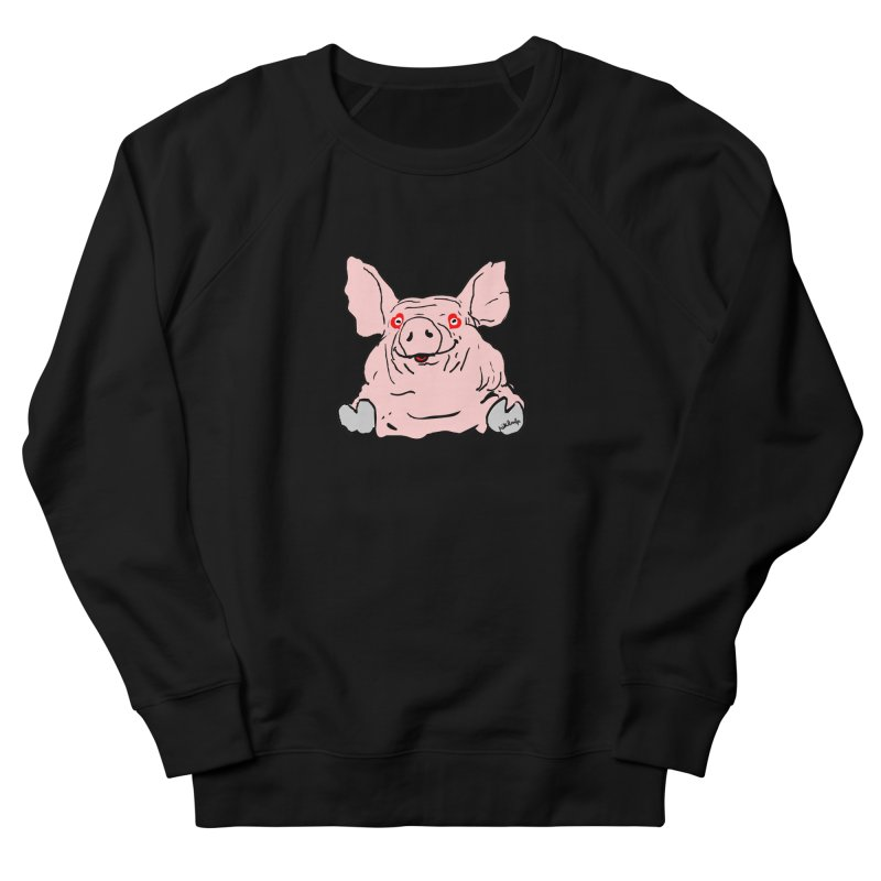 Lovepig Men's French Terry Sweatshirt by mikbulp's Artist Shop