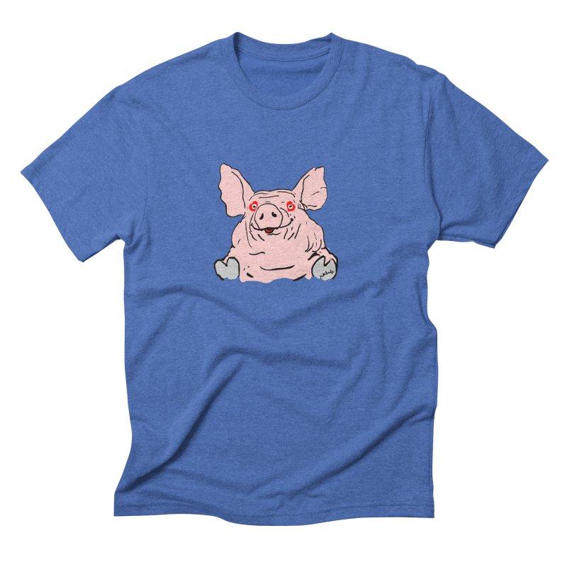 Lovepig Men's Triblend T-Shirt by mikbulp's Artist Shop