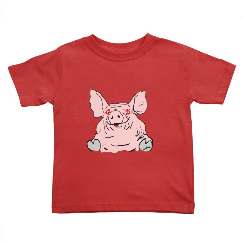 Lovepig Kids Toddler T-Shirt by mikbulp's Artist Shop