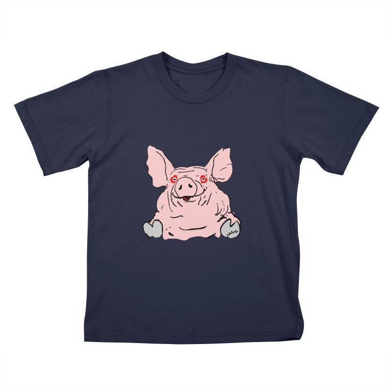 Lovepig Kids T-Shirt by mikbulp's Artist Shop