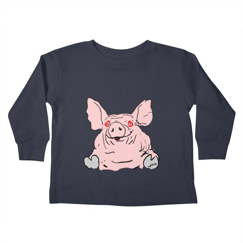 Lovepig Kids Toddler Longsleeve T-Shirt by mikbulp's Artist Shop