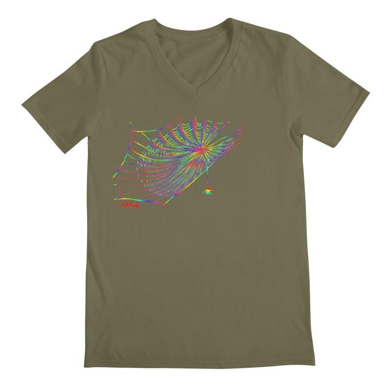 rainbowtrap Men's V-Neck by mikbulp's Artist Shop
