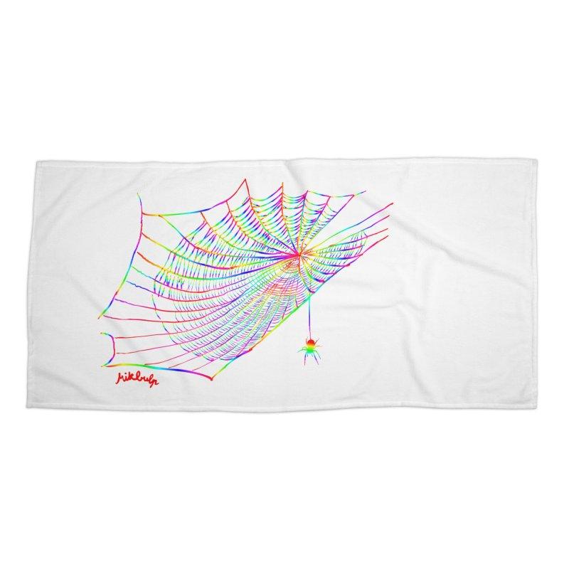 rainbowtrap Accessories Beach Towel by mikbulp's Artist Shop