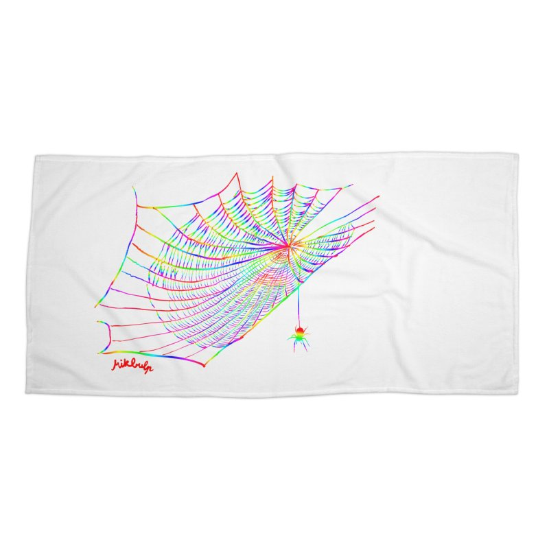 rainbowtrap Accessories Beach Towel by mikbulp's Artist Shop