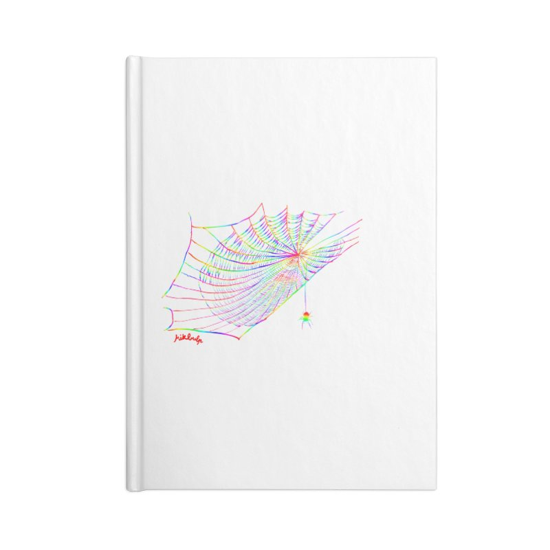 rainbowtrap Accessories Lined Journal Notebook by mikbulp's Artist Shop