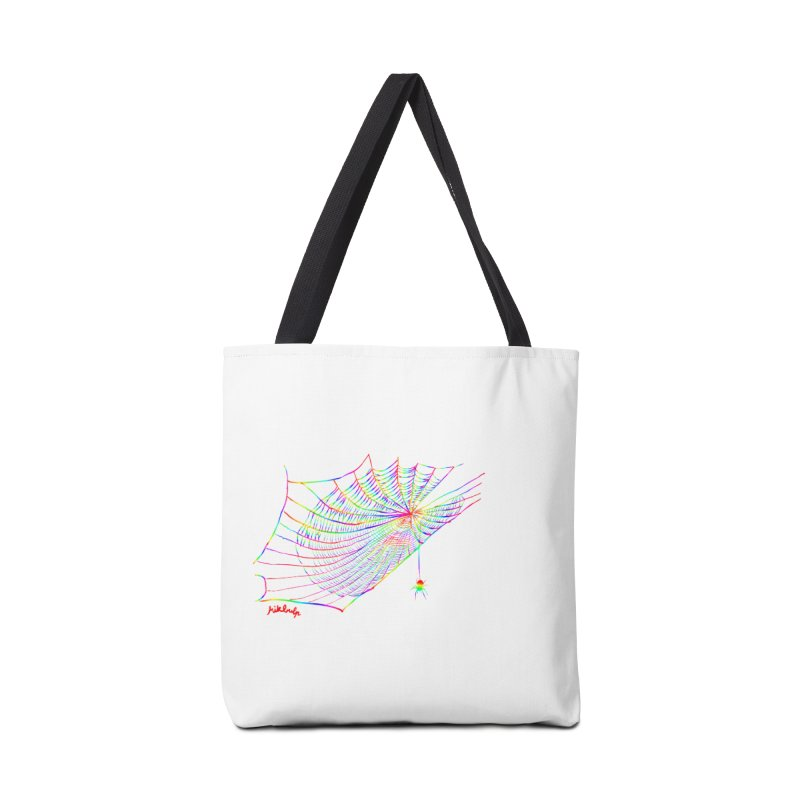 rainbowtrap Accessories Bag by mikbulp's Artist Shop