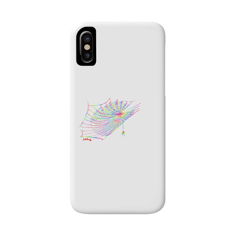 rainbowtrap Accessories Phone Case by mikbulp's Artist Shop