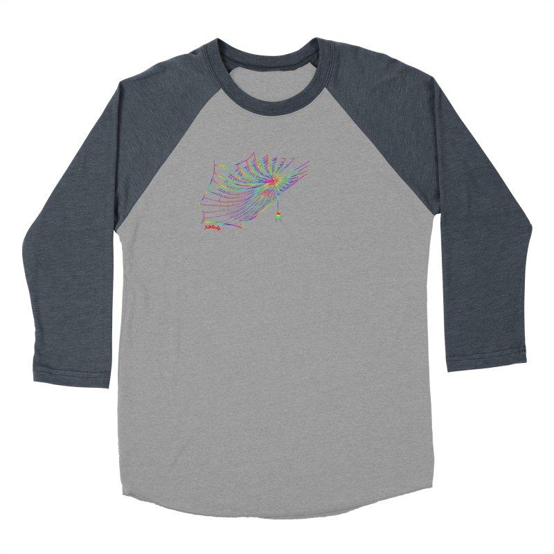 rainbowtrap Women's Baseball Triblend Longsleeve T-Shirt by mikbulp's Artist Shop