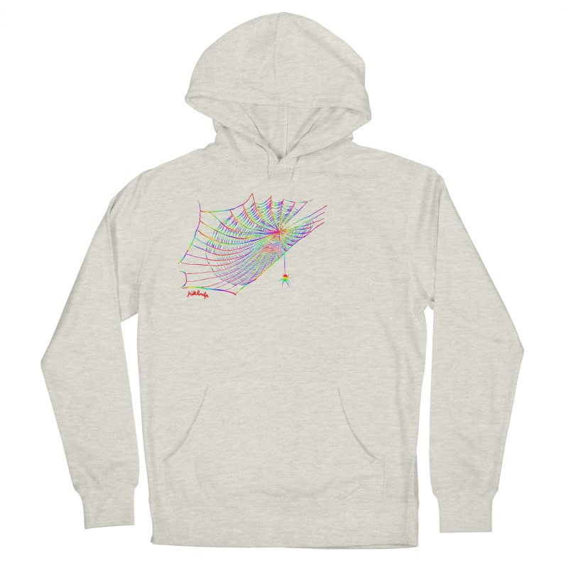 rainbowtrap Men's French Terry Pullover Hoody by mikbulp's Artist Shop
