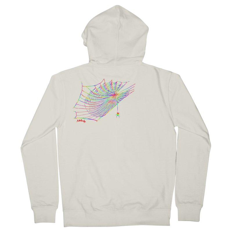 rainbowtrap Women's French Terry Zip-Up Hoody by mikbulp's Artist Shop