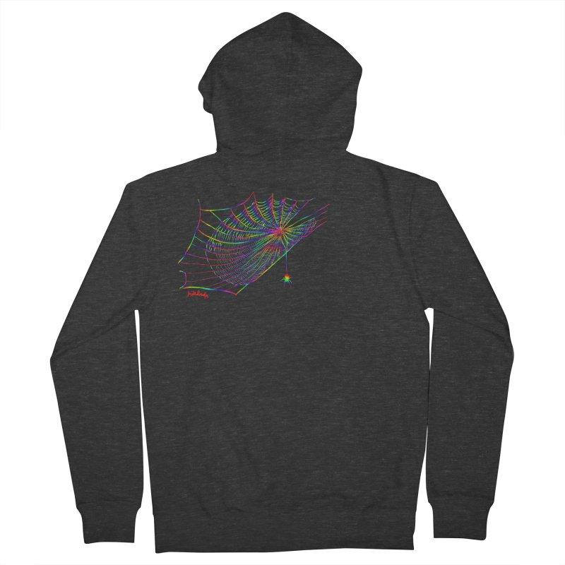 rainbowtrap Men's Zip-Up Hoody by mikbulp's Artist Shop