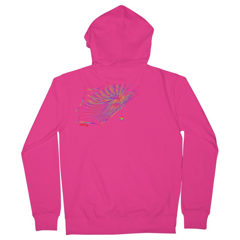 rainbowtrap Men's French Terry Zip-Up Hoody by mikbulp's Artist Shop