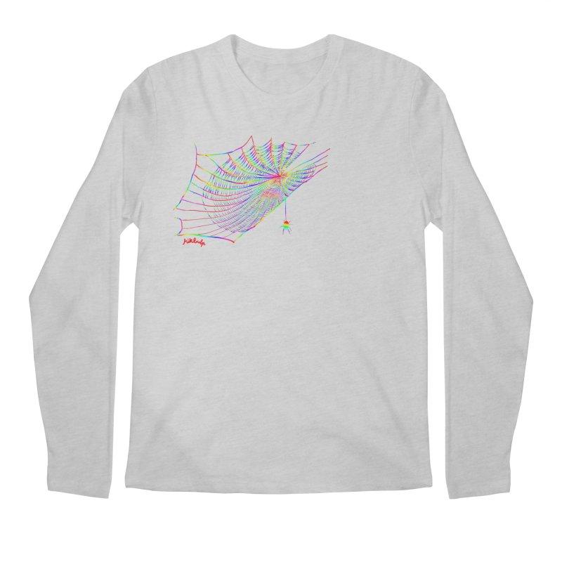 rainbowtrap Men's Regular Longsleeve T-Shirt by mikbulp's Artist Shop