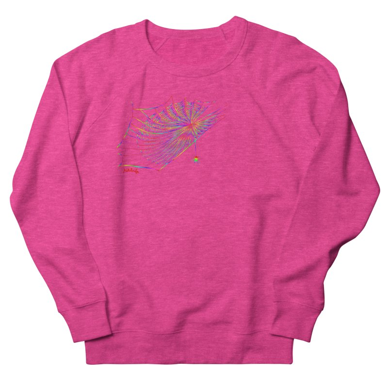 rainbowtrap Women's French Terry Sweatshirt by mikbulp's Artist Shop