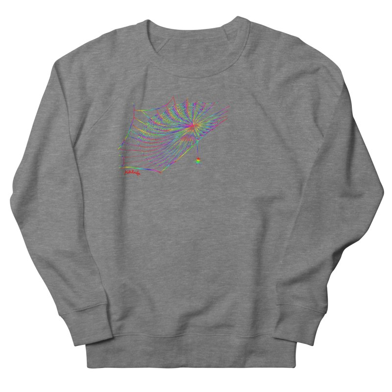 rainbowtrap Men's French Terry Sweatshirt by mikbulp's Artist Shop