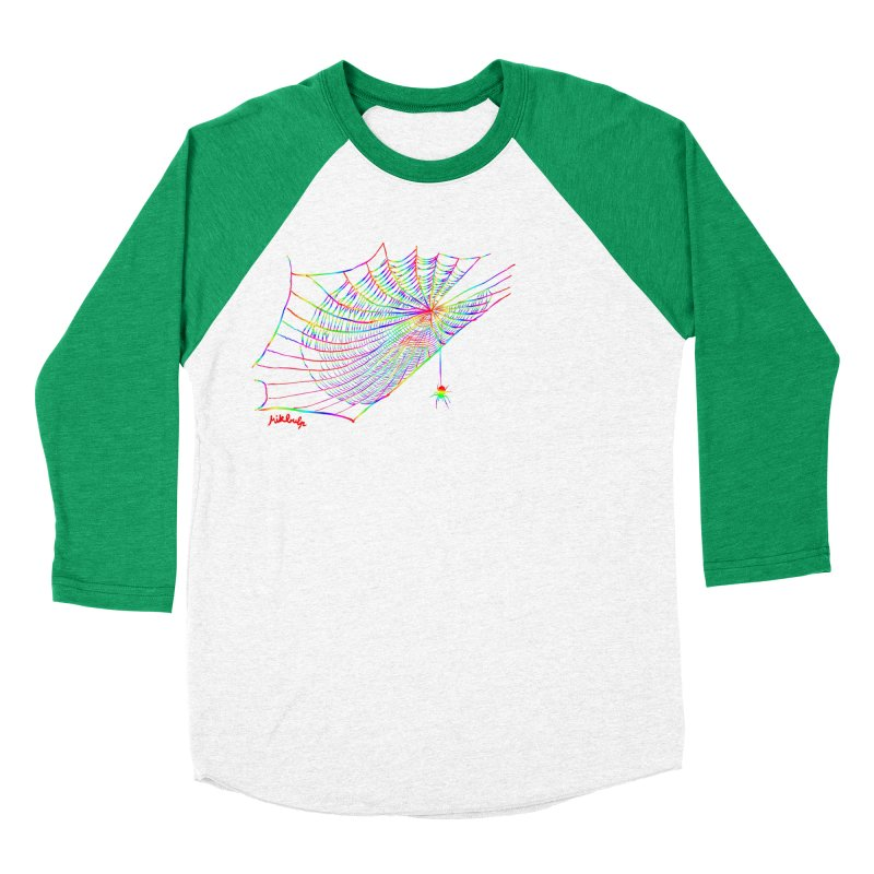 rainbowtrap Women's Baseball Triblend Longsleeve T-Shirt by mikbulp's Artist Shop