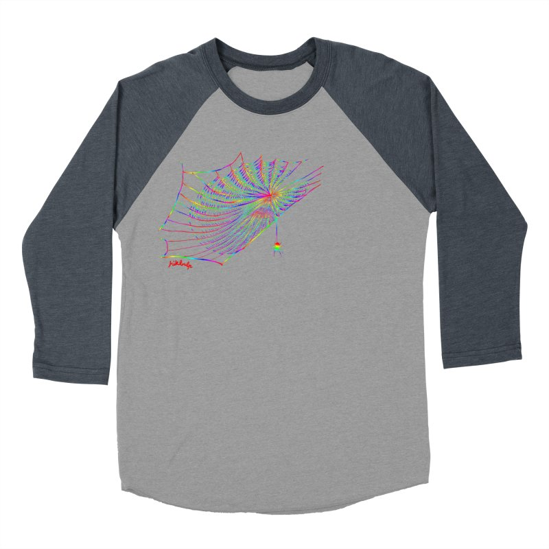rainbowtrap Men's Baseball Triblend Longsleeve T-Shirt by mikbulp's Artist Shop
