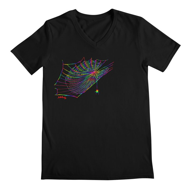 rainbowtrap Men's Regular V-Neck by mikbulp's Artist Shop