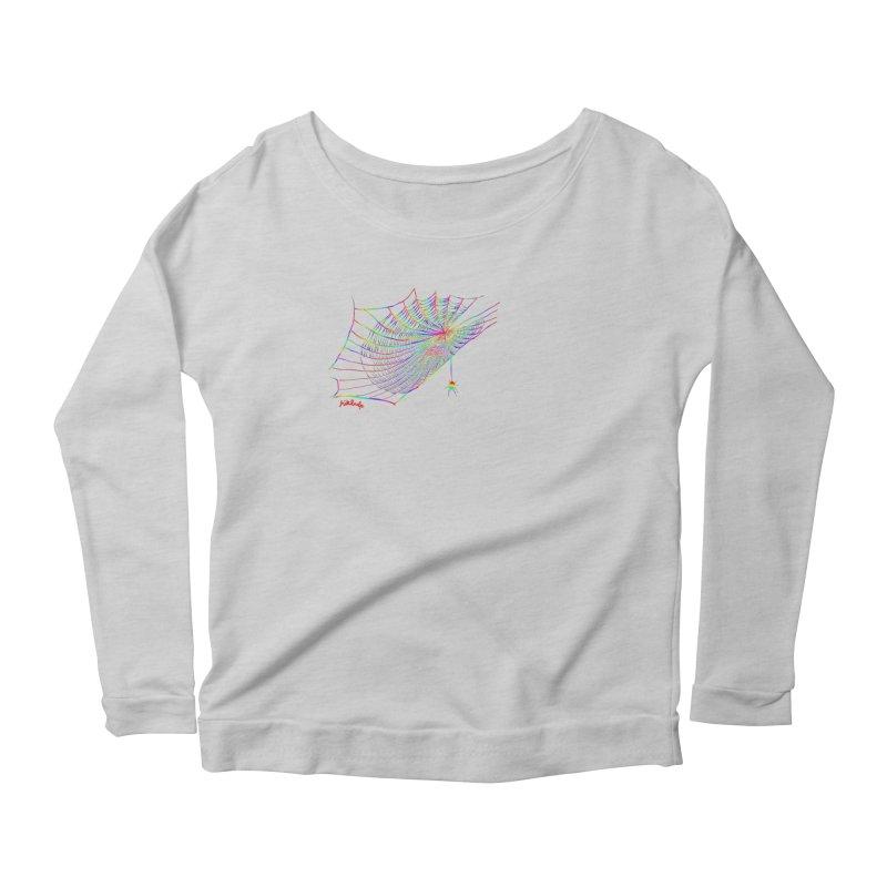 rainbowtrap Women's Scoop Neck Longsleeve T-Shirt by mikbulp's Artist Shop