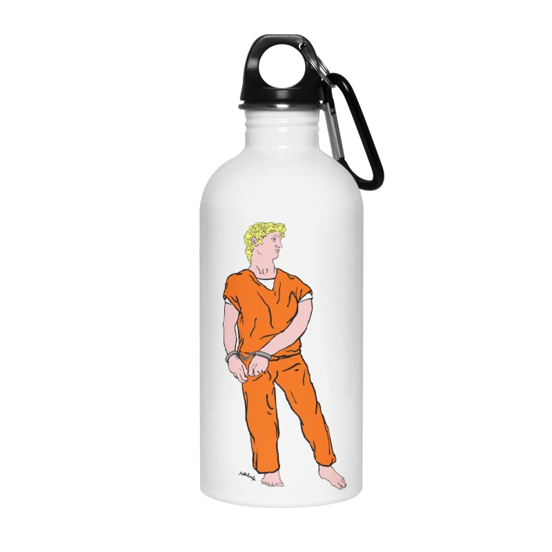 dystopia is now Accessories Water Bottle by mikbulp's Artist Shop