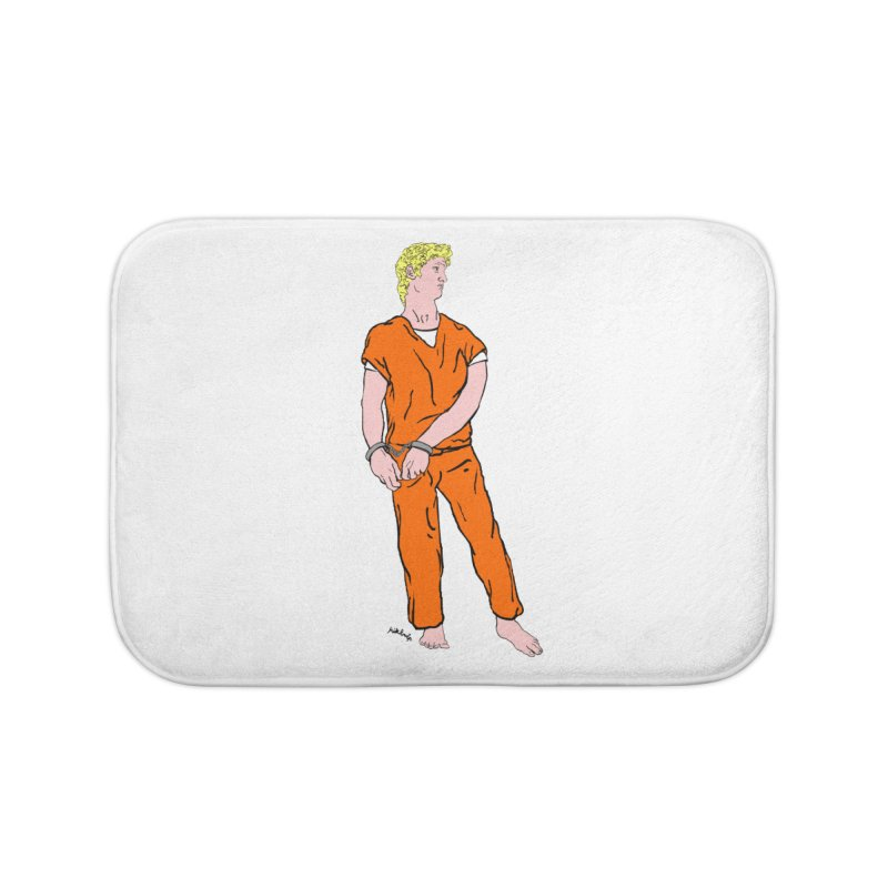 dystopia is now Home Bath Mat by mikbulp's Artist Shop