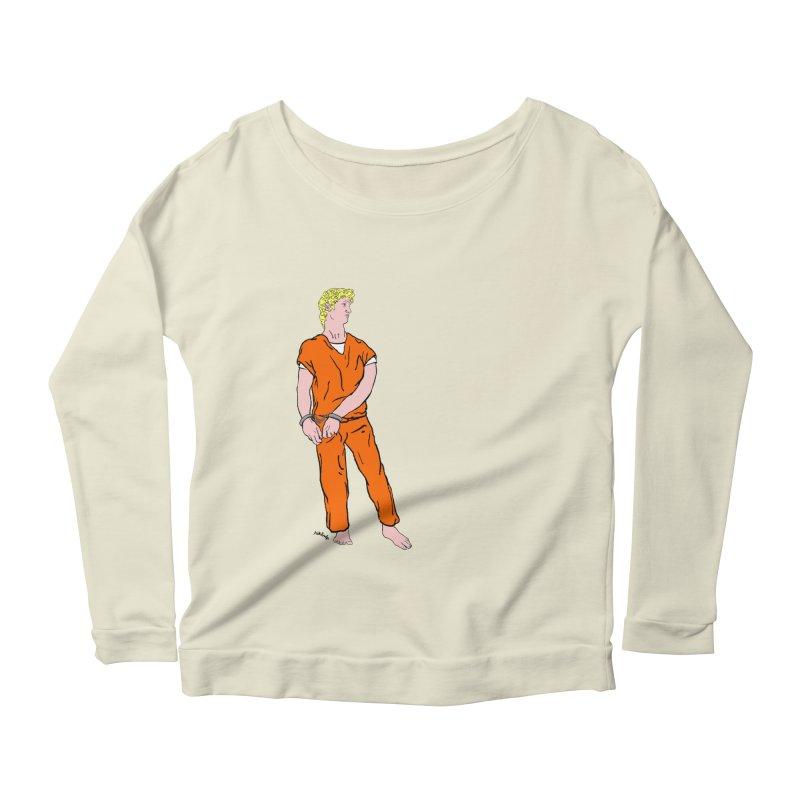 dystopia is now Women's Scoop Neck Longsleeve T-Shirt by mikbulp's Artist Shop