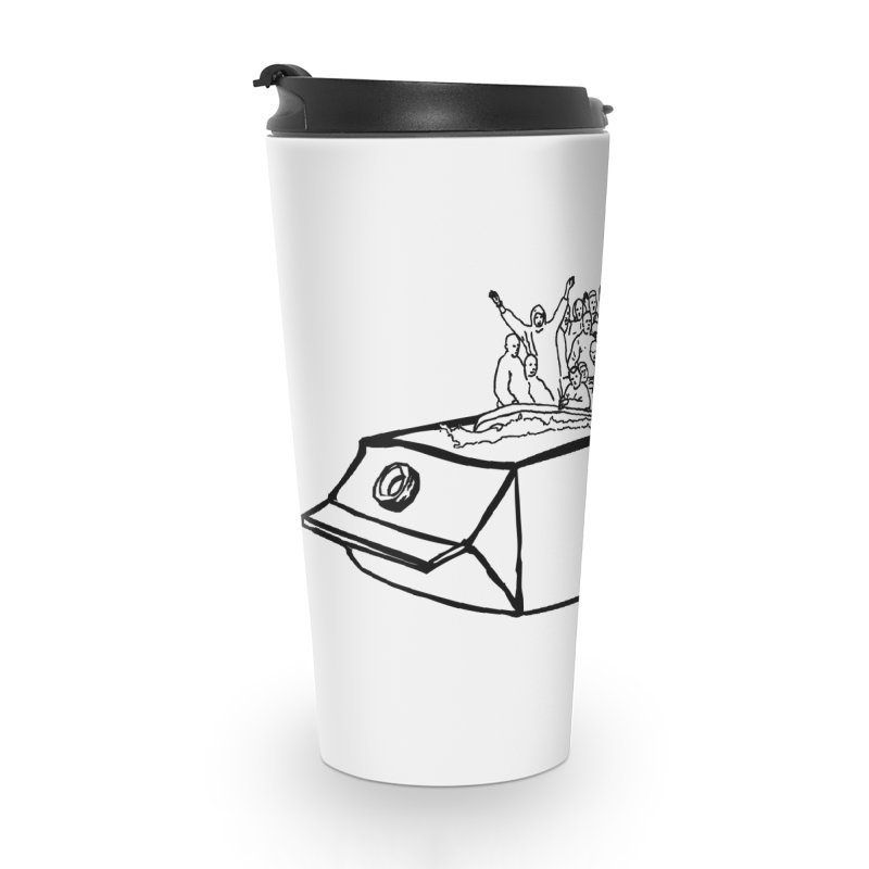 Milky Way Accessories Travel Mug by mikbulp's Artist Shop