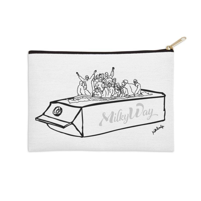 Milky Way Accessories Zip Pouch by mikbulp's Artist Shop