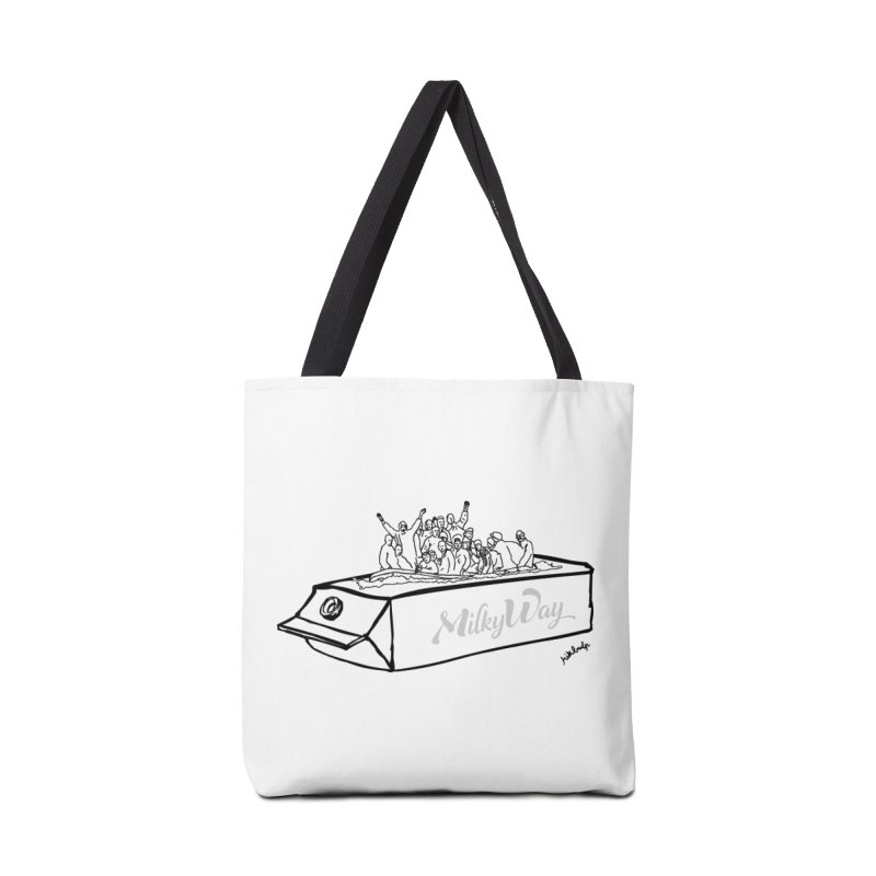 Milky Way Accessories Tote Bag Bag by mikbulp's Artist Shop