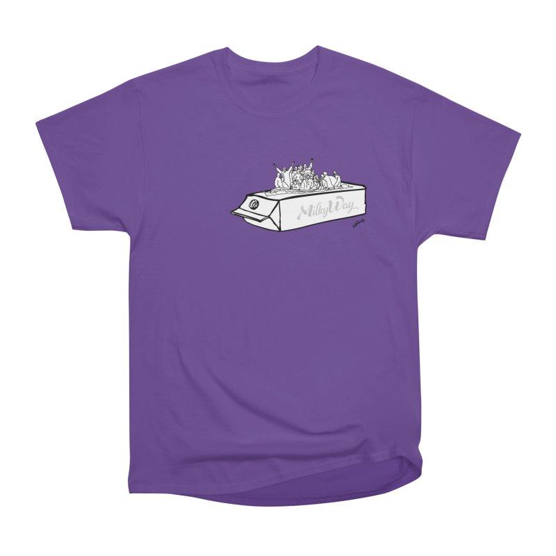 Milky Way Men's Heavyweight T-Shirt by mikbulp's Artist Shop