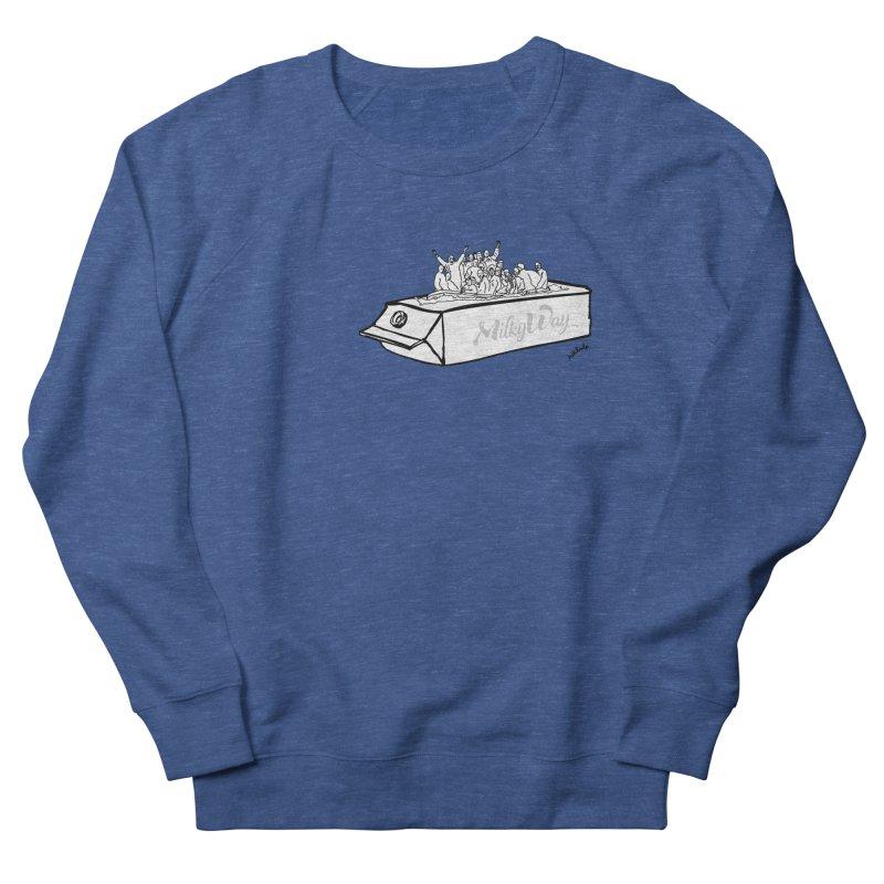 Milky Way Men's Sweatshirt by mikbulp's Artist Shop