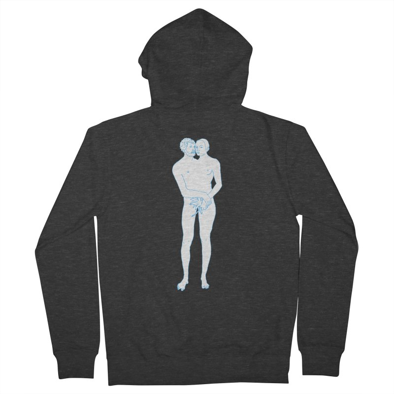 two in one Men's French Terry Zip-Up Hoody by mikbulp's Artist Shop