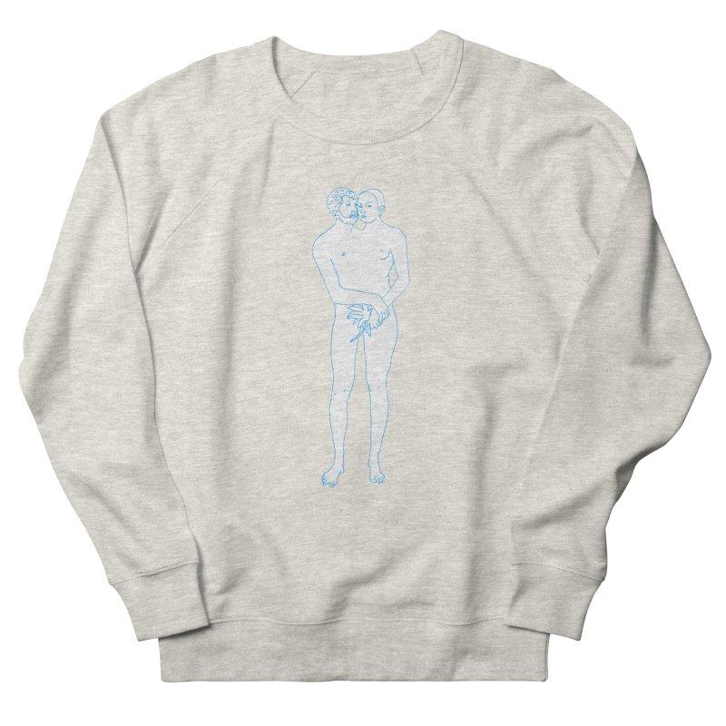 two in one Women's French Terry Sweatshirt by mikbulp's Artist Shop