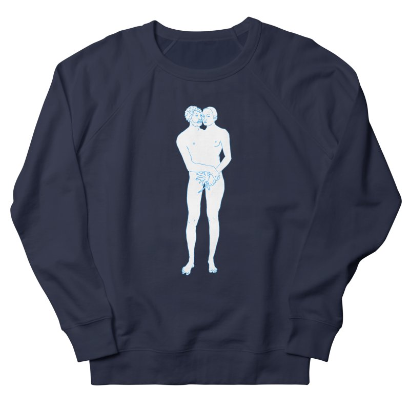 two in one Men's French Terry Sweatshirt by mikbulp's Artist Shop