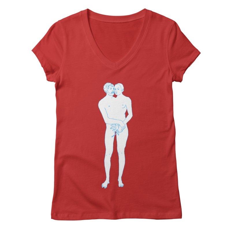 two in one Women's Regular V-Neck by mikbulp's Artist Shop